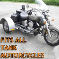 Tank Motorcycle Trike Kit - Fits All Models