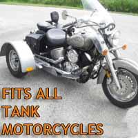 Tank Motorcycle Trike Kit - Fits All Models