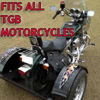 TGB Motorcycle Trike Kit - Fits All Models