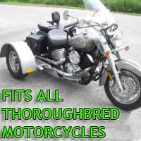 Thoroughbred Motorcycle Trike Kit - Fits All Models