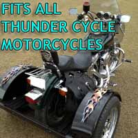Thunder Cycle Motorcycle Trike Kit - Fits All Models