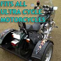 Ultra Cycle Motorcycle Trike Kit - Fits All Models