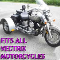 Vectrix Motorcycle Trike Kit - Fits All Models
