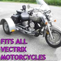 Vectrix Motorcycle Trike Kit - Fits All Models