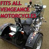 Vengeance Motorcycle Trike Kit - Fits All Models