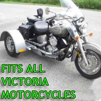 Victoria Motorcycle Trike Kit - Fits All Models