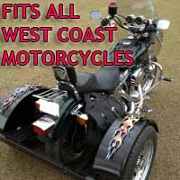 West Coast Customs Motorcycle Trike Kit - Fits All Models