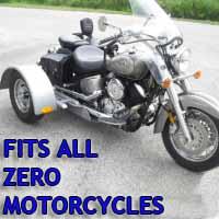 Zero Motorcycle Trike Kit - Fits All Models