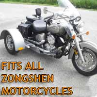 Zongshen Motorcycle Trike Kit - Fits All Models