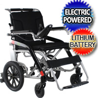 Electric Wheelchair Motorized Wheel Chair Heavy Duty Foldable New Power Mobility Scooter