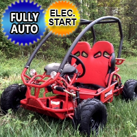 Big Horn 70cc Go Kart w/ Electric Start