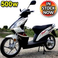 500 Watt 48V Electric Scooter Moped - E-500