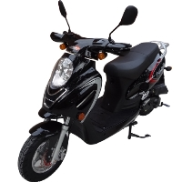 50cc Aeolus Prescott 50i Gas Moped Scooter