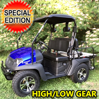 Linhai Big Horn 200 GVX HL Gas Golf Cart UTV 4 Seater Side by Side UTV