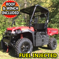 400cc Utility Vehicle Fuel Injected Big Horn UTV 4WD - UTV410 T BOSS