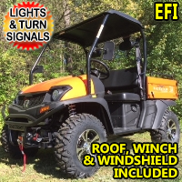 450cc Utility Vehicle Fuel Injected Big Horn UTV 2WD/4WD - UTV450EFI