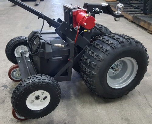 Electric Trailer Dolly >> High Quality Super Duty Hybrid Powered Motorized Trailer Dolly 12 000lb Capacity