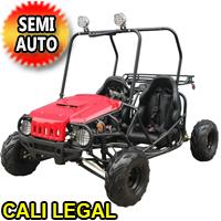 125cc Go Kart Super Wrangler Semi Auto Go Cart - ATK125A