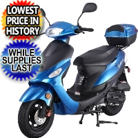 50cc MAUI DREAMER Scooter 4 Stroke Moped ATM50A1