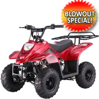 110cc Boulder Sport ATV 4 Wheeler