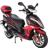 150cc Quantum Tour Moped Scooter - Quantum 150