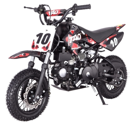 110cc automatic pit dirt bike motorcycle w e start 50cc frame size w24 seat height - Dirt Bike Frame