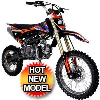 TAOTAO 125cc Dirt Bike 4-Speed Manual Kick Start - DB-27