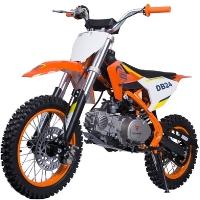 110cc Dirt Bike Semi Automatic Air Cooled Pit Bike - DB24