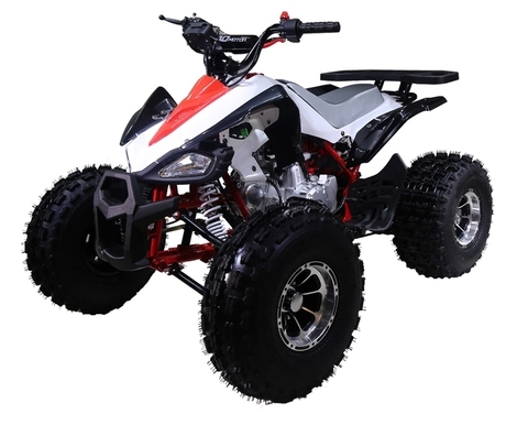 New 125cc Cheetah Sport Atv 4 Wheeler With Automatic Transmission W