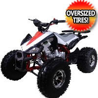 "New 125cc Cheetah Sport ATV 4 Wheeler with Automatic Transmission w/Reverse and 19""/18"" Alloy Rims & Wheels"
