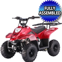 110cc Fully Assembled Boulder Atv Four Wheeler - Model: Ready B1