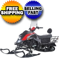 Brand New TaoTao SnowFox 200 Automatic SnowMobile