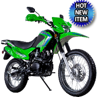 250cc Enduro Street Legal Dirt Bike with 229cc Motor 5 Speed Manual w/ Electric Start & Kick Start - TBR7