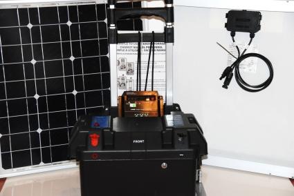 Solar Powered Generator 100 Amp 3000 Watt Solar Generator