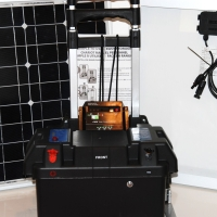 100 Amp 3000 Watt Solar Generator Just Plug and Play NOT A KIT