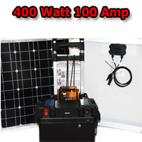 Solar Powered Generator 100 Amp Solar Generator Just Plug and Play