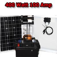 Solar Powered Generator 100 Amp Solar Generator Just Plug and Play