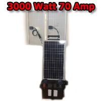 Solar Powered Generator v70 Amp Solar Power Generator With 3000 Watt 110 Volt System