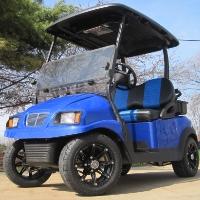48V Blue Phantom Club Car Precedent Electric Golf Cart