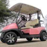 48V Elite Pink Panther Club Car w/ Custom Rims & Tires