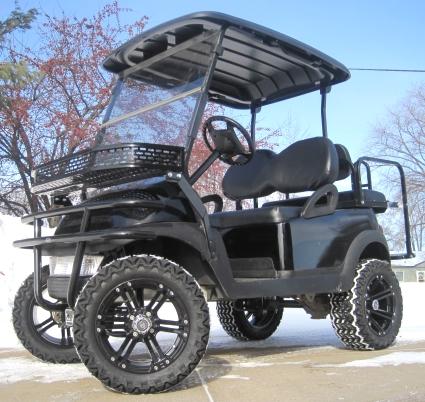 48v Black Ops Club Car Precedent Golf Cart
