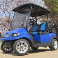 48V Royal Blue Club Car Precedent Golf Cart