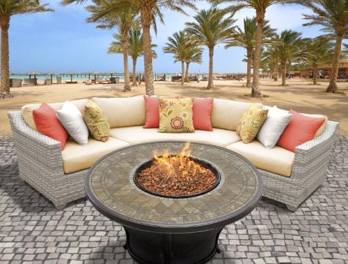 Fairview 4 Piece Outdoor Wicker Patio Furniture Set 2017 Model