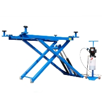 Automotive Titan 6,000 lb Mid Rise Scissor Car Vehicle Lift