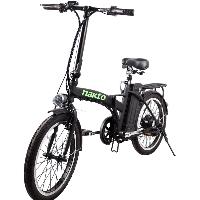 "20"" Electric Folding Bicycle 250 Watt 36 Volt Lithium Powered Bike"
