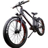 "26"" Electric Bicycle 500 Watt Fat Tire Lithium Powered Bike - Super Cruiser"