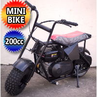 196cc Storm Mini Bike 200 Motorcycle 6.5hp Adults & Juniors Street Bike