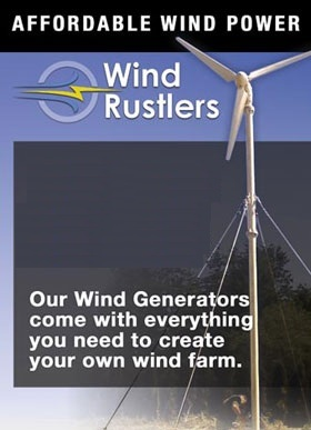 Aero Brand New 5kw Wind Turbine Generator - Complete System