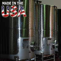 1000 Gallon Stainless Steel Fermenter Wine Tank - 100% MADE IN THE USA