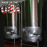 1500 Gallon Stainless Steel Wine Tank Fermenter - 100% MADE IN THE USA